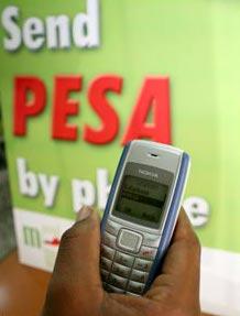Safaricom's M-PESA mobile banking has been a massive success in Kenya.