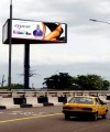 Billboards are a popular advertising medium in Nigeria.