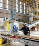 Ceramic Industries' Vitro tile manufacturing facility located west of Vereeniging, South Africa.