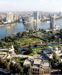 Cairo is one of Africa's three megacities
