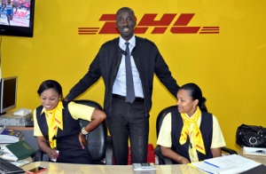 Abdoulaye Thiam is the manager of DHL Express in Senegal.