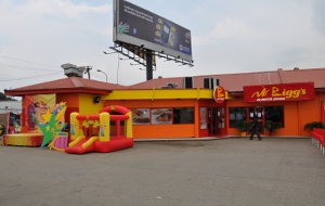 A Mr Bigg's outlet in Nigeria's commercial hub Lagos.