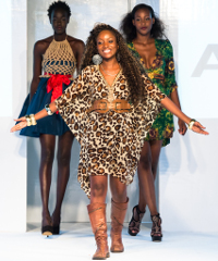 Lilly Alfonso collection at Africa fashion Week London 2012.