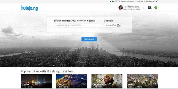 Nigerian online hotel booking platform Hotels.ng has raised US$1.2m in funding.