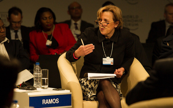 Africa's capital markets have made a number of important strides over the last decade, but there is a lot more that can be done, said Maria Ramos, CEO of Barclays Africa Group, at the 2015 World Economic Forum on Africa. Photo by World Economic Forum / Greg Beadle