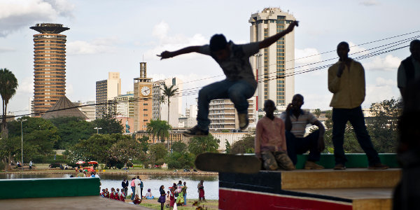 Nairobi, Kenya. A question mark remains over how urbanisation in Africa will play out.