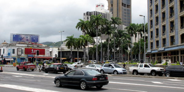 Port Louis, Mauritius. The island state maintains its position as Africa most competitive economy for the third year in a row.