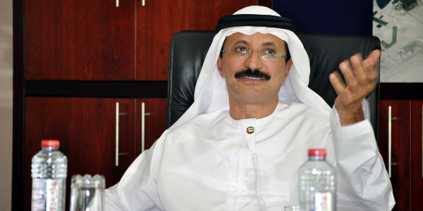 Sultan Ahmed Bin Sulayem, chairman of DP World.