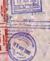 African passport stamps visa 200x240