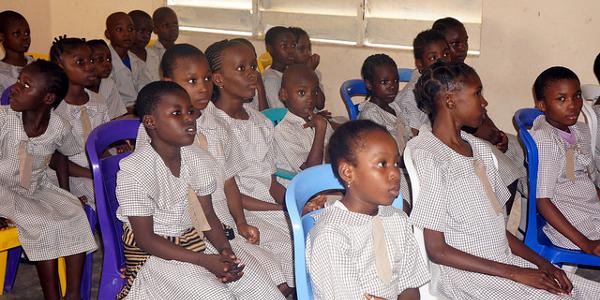 School children attending a Tedx Event in Akure, Nigeria. Photo: Joel Ogunsola / Flickr